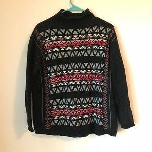 Chaps tribal sweater